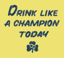 Drink Like a Champion - South Bend Style Gold by medallion