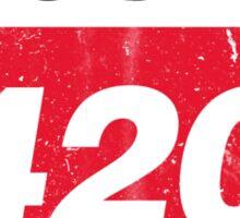 Vintage Route 420 Sticker