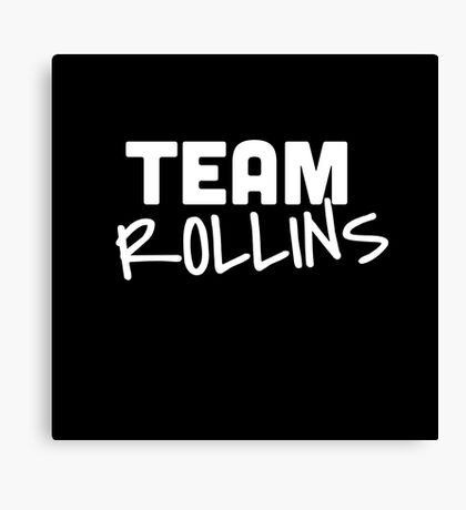 Team Rollins Canvas Print