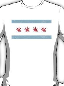 Vintage Chicago Cannabis T-Shirt