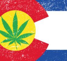 Vintage Colorado Cannabis Sticker