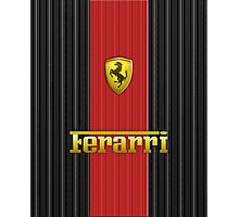 Ferrari Lover #3 [Gold - Red] #2 Photographic Print