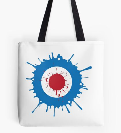 Mod Splat Tote Bag
