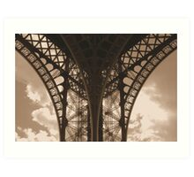 lace architecture Art Print