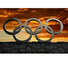Olympic Dawn Photographic Print