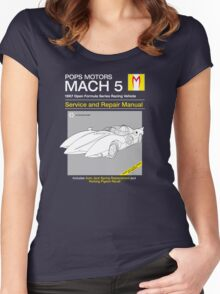 Mach 5 Service and Repair Women's Fitted Scoop T-Shirt