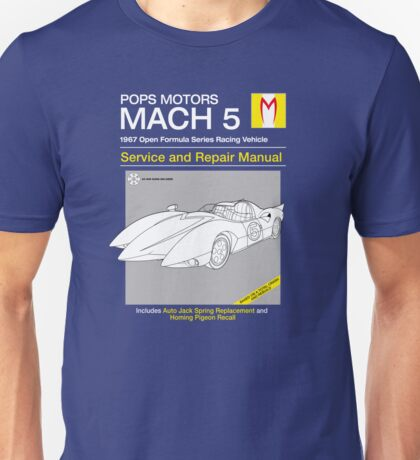 Mach 5 Service and Repair T-Shirt