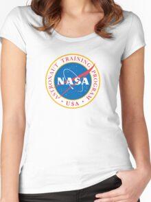 NASA - Astronaut Training Program Women's Fitted Scoop T-Shirt