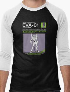 EVA Unit-1 Service and Repair Men's Baseball ¾ T-Shirt