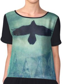 Over the edges Chiffon Top