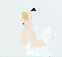 THE POWDER ROOM GIRL by Babeth Lafon