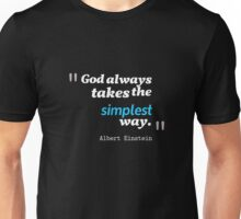 A. Einstein Quote Unisex T-Shirt