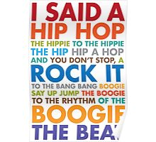 Rappers Delight Poster