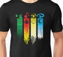 Avatar the Last Airbender - Four Element Kingdoms Unisex T-Shirt