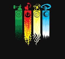 Avatar the Last Airbender - Four Element Kingdoms Unisex T-Shirt