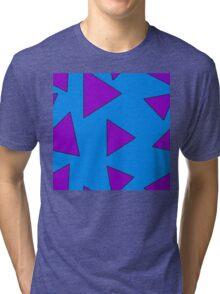 Wallaby Triangles Tri-blend T-Shirt