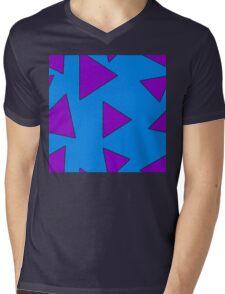 Wallaby Triangles Mens V-Neck T-Shirt