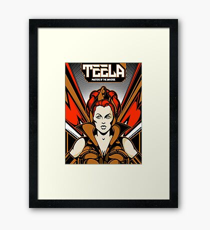 Teela : Masters Of The Universe Framed Print