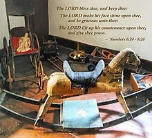 Numbers 6:24-26 The LORD bless thee, and keep thee by Susan Savad