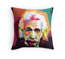 Einstein Art  Throw Pillow