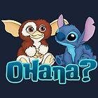 Gizmo and Stitch by Ellador
