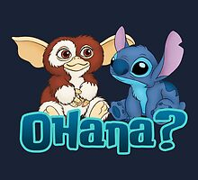 Gizmo and Stitch by Ellador