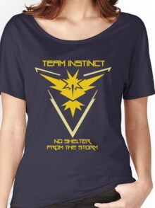 Team Instinct - No Shelter From The Storm Women's Relaxed Fit T-Shirt