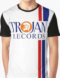 TROJAN RECORDS TWO STRIPE Graphic T-Shirt
