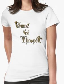 GAMES OF TRHONES Womens Fitted T-Shirt