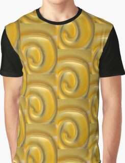 YELLOW SWIRL Glass Chime © Vicki Ferrari Graphic T-Shirt