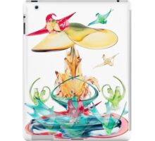To rest on wings of glass by Darryl Kravitz iPad Case/Skin