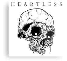 HEARTLESS SKULL Metal Print