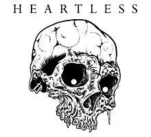 HEARTLESS SKULL Photographic Print