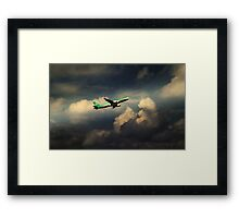 Aer Lingus  Airbus  Framed Print