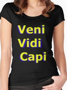Veni Vidi Capi Women's Fitted Scoop T-Shirt