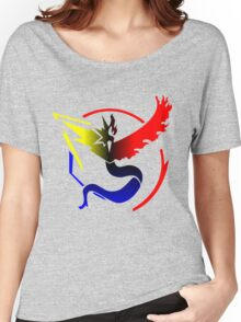 Pokemon Go Teams United [Team Colors] Women's Relaxed Fit T-Shirt
