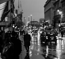 A wet London evening by psankey