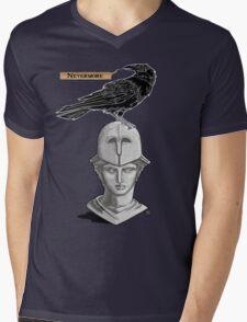 Nevermore Mens V-Neck T-Shirt