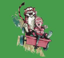 Calvin And Hobbes Fast One Piece - Short Sleeve