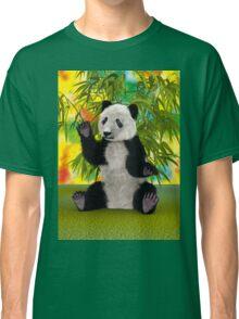 3D Rendering Panda Bear Classic T-Shirt