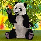 3D Rendering Panda Bear by Vac1
