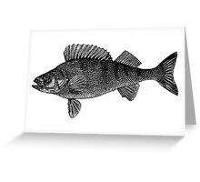 Fish of the Page Greeting Card