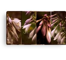 Floral Collage Canvas Print