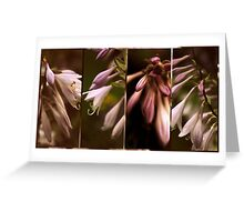 Floral Collage Greeting Card