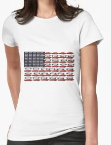 American Classic by Darryl Kravitz Womens Fitted T-Shirt