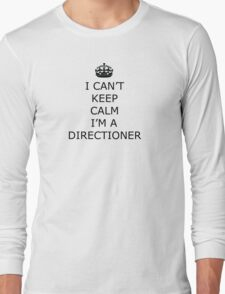 Keep Calm I'm A Directioner One Direction T-Shirt Long Sleeve T-Shirt