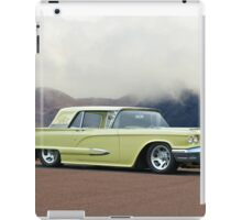 1958 Ford Thunderbird 'Custom' iPad Case/Skin