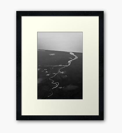 Towards the ocean Framed Print
