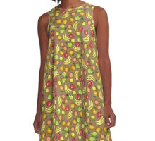 ColorfulFruit A-Line Dress