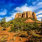The Butte by BGSPhoto